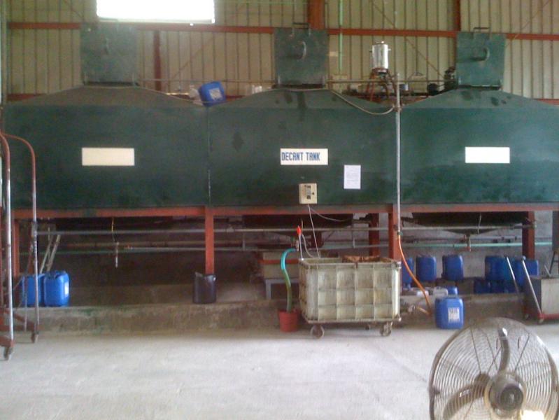Decantation Tank