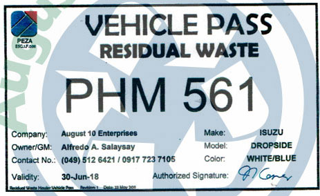 Vehicle Pass