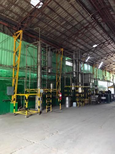Distilling Column